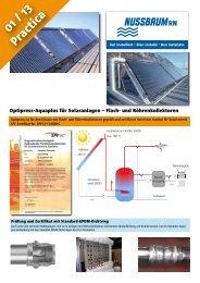 Practica 01/13:Optipress-Aquaplus für ... - R. Nussbaum AG