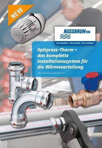 Optipress -Therm – das komplette ... - R. Nussbaum AG