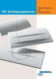 WC-Betätigungsplatten - R. Nussbaum AG