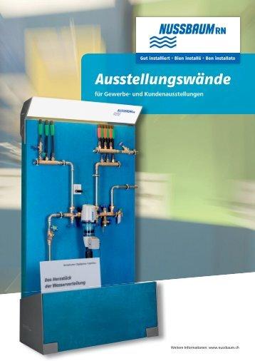 Ausstellungswände - R. Nussbaum AG