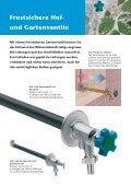 Gartenarmaturen Wasser im Garten - R. Nussbaum AG - Seite 4