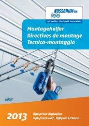 Directives de montage 2013 - R. Nussbaum AG