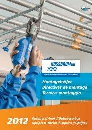 Op tipress ⁄⁄Cupress ⁄⁄Op tifl ex Montagehelfer ... - R. Nussbaum AG