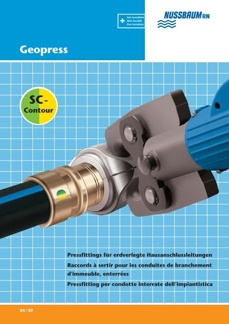 Pressfitting Geopress - R. Nussbaum AG