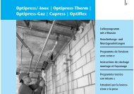 Optipress/-Inox | Optipress-Therm | Optipress ... - R. Nussbaum AG