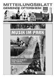 53. Jahrgang Freitag, 21. Juni 2013 Nummer 25 - Nussbaum Medien