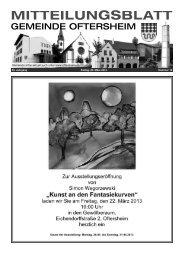 53. Jahrgang Freitag, 22. März 2013 Nummer 12 - Nussbaum Medien