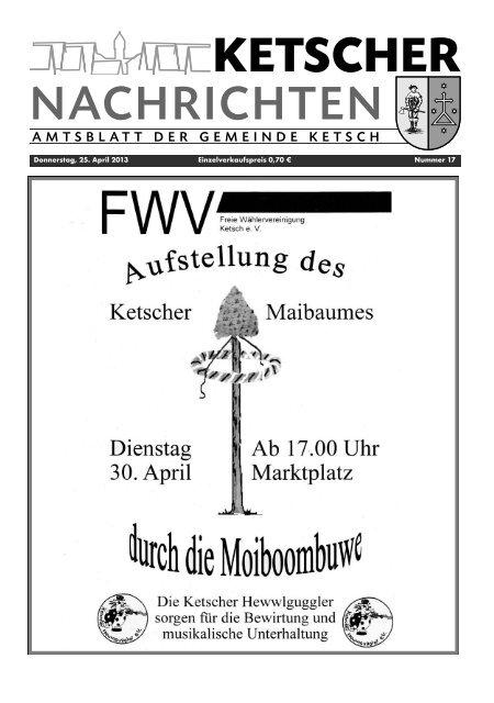 Ketsch KW17 2013 - Nussbaum Medien