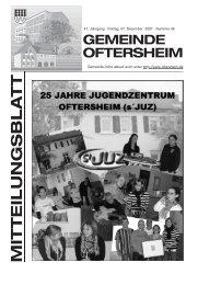 47. Jahrgang . Freitag, 07. Dezember 2007 . Nummer 49 Gemeinde ...