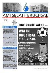 Amtsblatt Bruchsal KW23.pdf - Nussbaum Medien