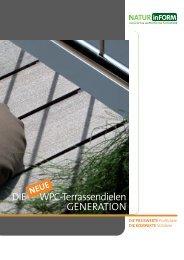 DIE WPC-Terrassendielen GENERATION - Nutzholz May