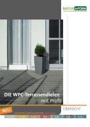 DIE WPC-Terrassendielen mit Profil - Nutzholz May