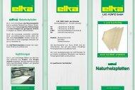 Produktflyer Naturholzplatten Dateigröße : 458 KB - Nutzholz May