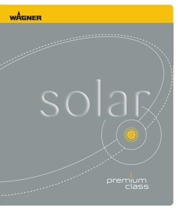 Solarleuchten, Premium Class - Nutzholz May