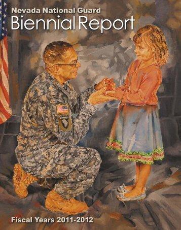 2011-2012 Biennial Report - Nevada National Guard - U.S. Army