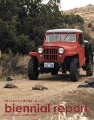 2009-2010 Biennial Report - Nevada National Guard - U.S. Army
