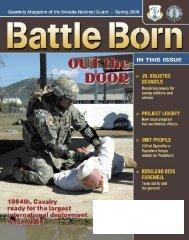Spring 09 - Nevada National Guard - U.S. Army