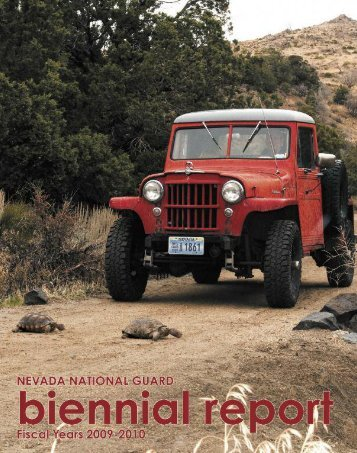 2009-2010 Biennial Report - Nevada National Guard - U.S. Army