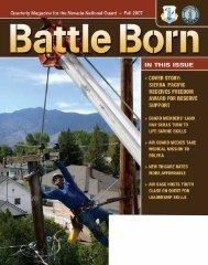 Fall 07 - Nevada National Guard