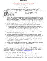 Retention Assistant - Nevada National Guard - U.S. Army