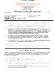 Counterdrug Liaison Officer - Nevada National Guard