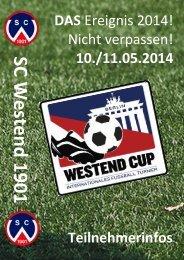 1. Westend-Cup 2014 -SC Westend 1901-