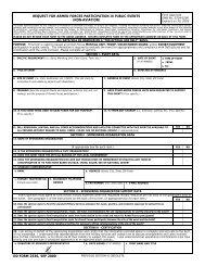 DD Form 2536 - STATES