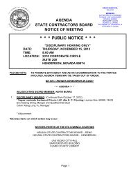 11-15-12 Las Vegas Disc no times.pdf - Nevada State Contractors ...
