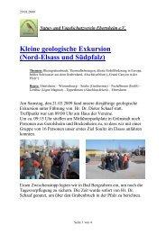 geologische Exkursion - Verein für Natur- und Vogelschutz ...