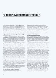 Kapittel 3 Teknisk-økonomiske forhold - NVE