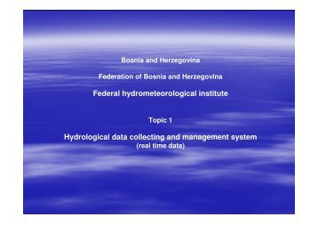 Hydrological data collecting and management system - NVE