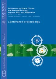 Conference on Future Climate and Renewable Energy