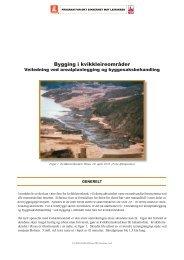 handsame areal- og byggeplanar - NVE