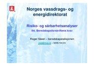 Norges vassdrags- og energidirektorat - NVE