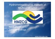 Hydrometeorological institute of MONTENEGRO - NVE