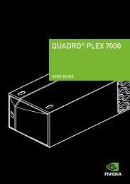QUadro® PLeX 7000 - Nvidia