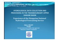 hydrological data collection and processing in the ... - NVE