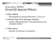 Direct3D Special Effects - Nvidia