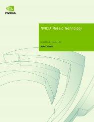 NVIDIA Mosaic Technology