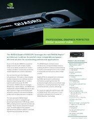 NVIDIA Quadro K5000|NVIDIA Quadro K5000 Datasheet - Microway