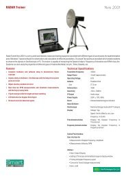 Technical Specification - Scientech