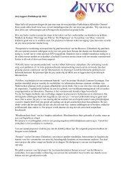 Juryrapport Publieksprijs 2012 - NVKC