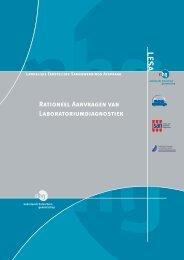 LESA Rationeel aanvragen van laboratoriumdiagnostiek - NVKC
