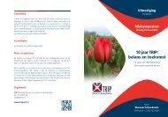 10 jaar TRIP: balans en toekomst - NVKC