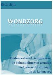 Concept-richtlijn Wondzorg - Nederlandse Vereniging voor ...