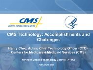 CMS Technology: Accomplishments and Challenges - Northern ...