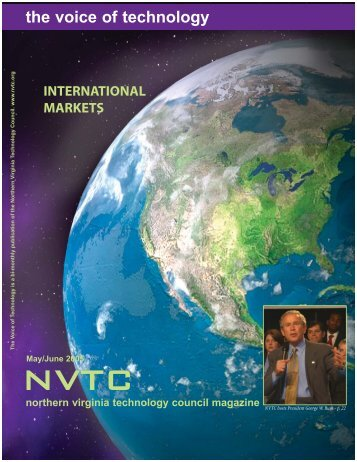 the voice of technology - Northern Virginia Technology Council