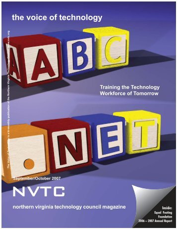 Sept Oct 2007:TRY THIS.qxd - Northern Virginia Technology Council