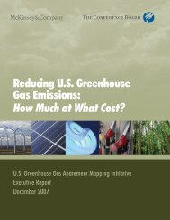 Reducing US Greenhouse Gas Emissions - Center for Climate and ...