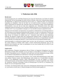 1. Waldschutz-Info 2006 - Nordwestdeutsche Forstliche ...